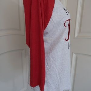 Next Level Apparel Tops - Long sleeve baseball Tee